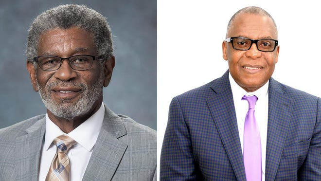 Chatham County Commission District 2 candidates Larry 'Gator' Rivers (left) and Tony Riley