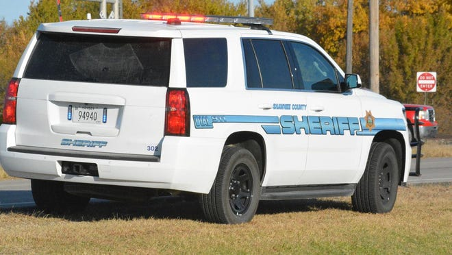 A Kansas City man is in custody following a vehicle pursuit that began Monday morning in Shawnee County.