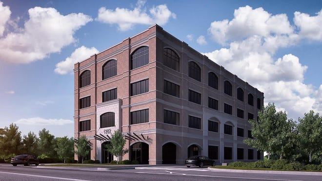 An artist's conception of the 1282 Prince Avenue building now under construction  that will become the new home for Piedmont College's Athens campus.  The move from its current location down the street on Prince is set for January, when the college also plans to change its name to Piedmont University.