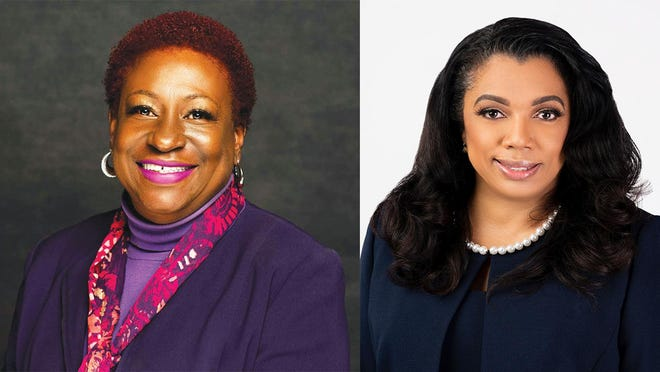 Chatham County Commission District 5 candidates Tanya Milton (left) and incumbent Tabitha Odell.