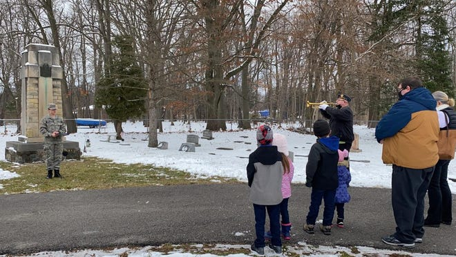 The Wreaths Across America tradition was introduced this year in Bedford Township.