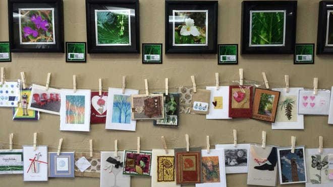 A display in Creative Juices Artisan Shoppe in Kimberly.
