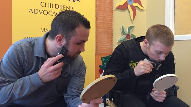 Florence Police are not shaving throughout November to participate in a fundraiser benefiting Children's Hospital.