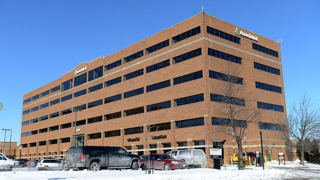 Associated Bank headquarters building in Green Bay.