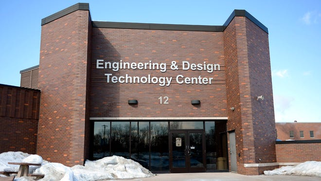Northeast Wisconsin Technical College Engineering and Design Technology Center building in Green Bay.
