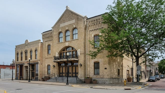 The historic Grand Opera House in downtown Oshkosh