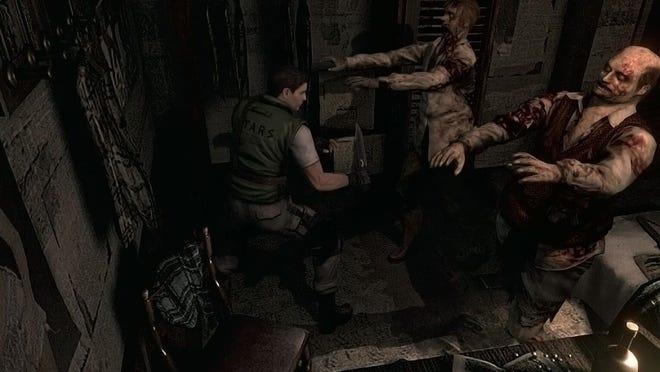 """Zombies are on the prowl in """"Resident Evil HD Remaster."""""""