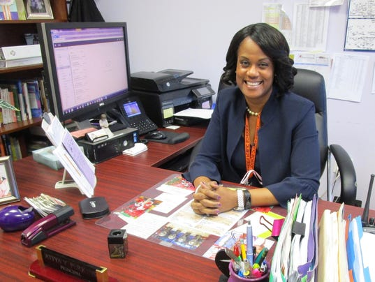 Linden principal honored for Black History Month PHOTO CAPTION
