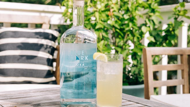 One of the latest creations from Wilmington's Blue Shark Vodka is the Sparkling Elderflower Lemonade Cocktail.