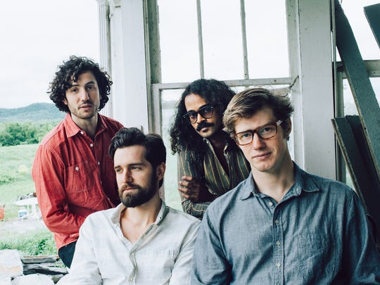 Indie-folk quartet Darlingside is in concert July 10