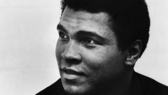 Muhammad Ali in 1985.