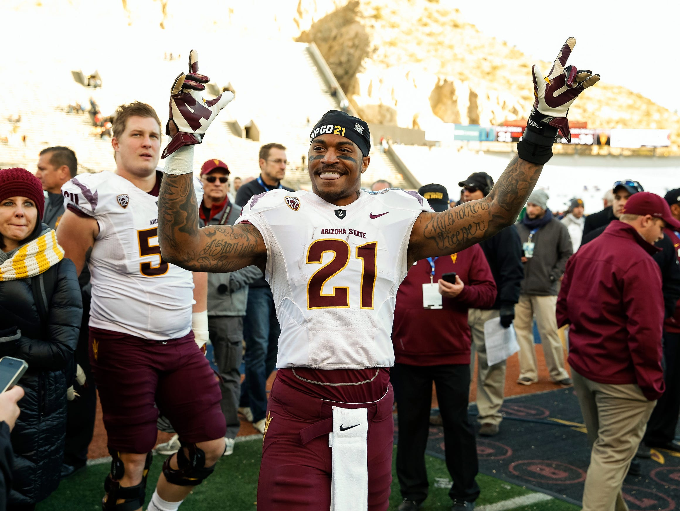 Is former ASU wide receiver Jaelen Strong just what the Cleveland Browns need at No. 19?