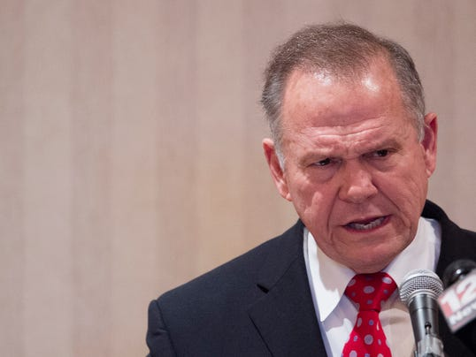 Roy Moore Speaks in Prattville