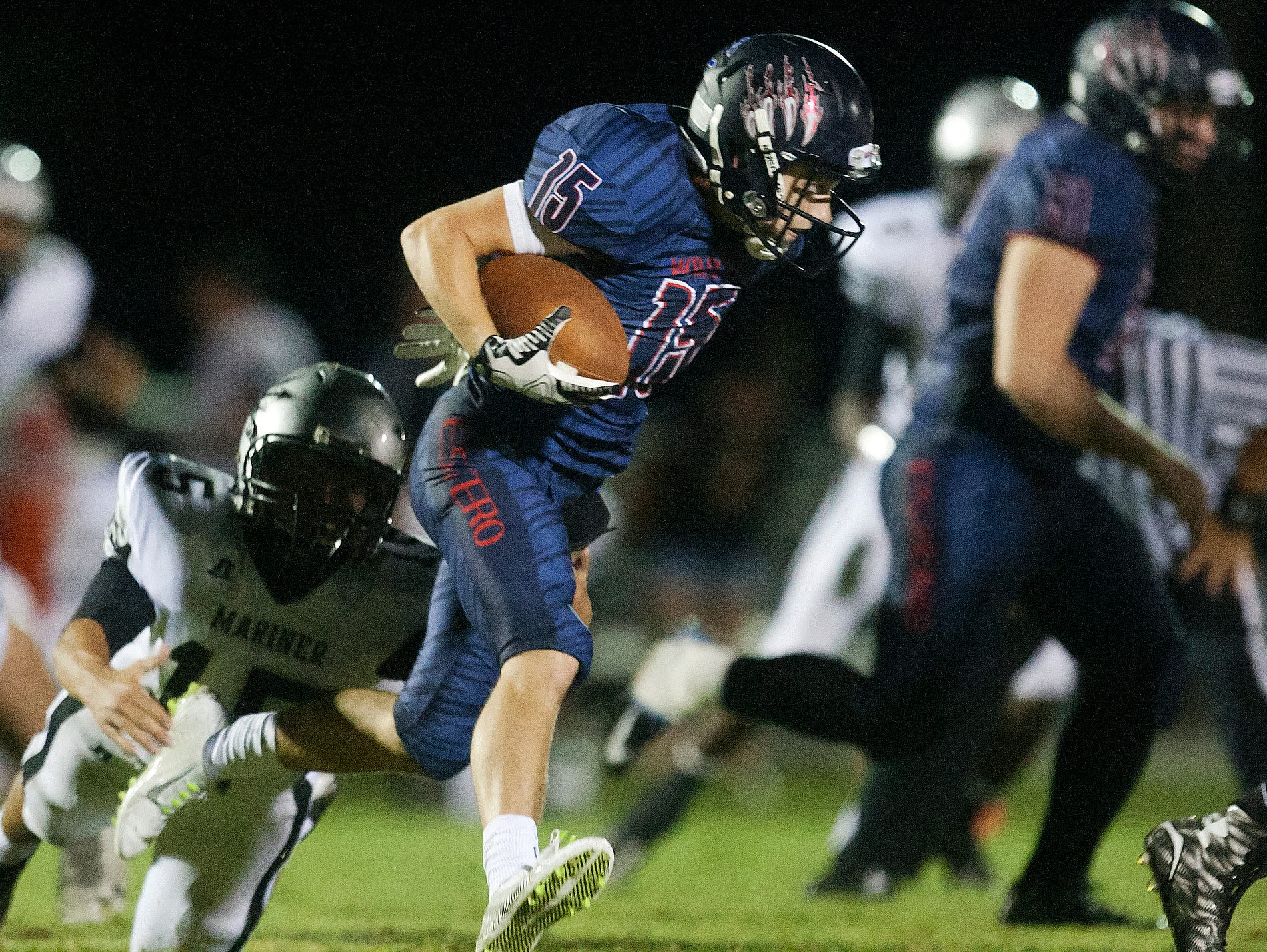 Despite a 2-5 Estero has the inside track on one of two playoff berths coming out of District 6A-11.