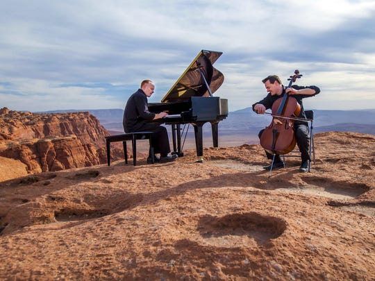 The Piano Guys perform at 8 p.m. Jan. 26 at the Silver Legacy's Grande Exposition Hall.