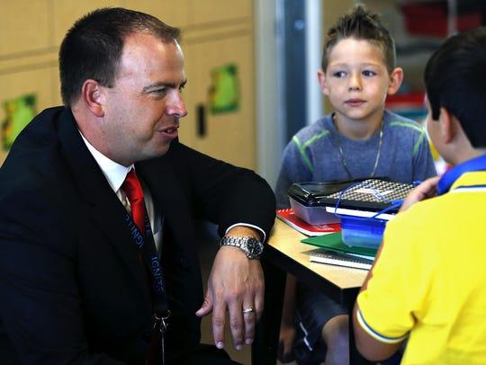 Springfield Public Schools superintendent John Jungmann