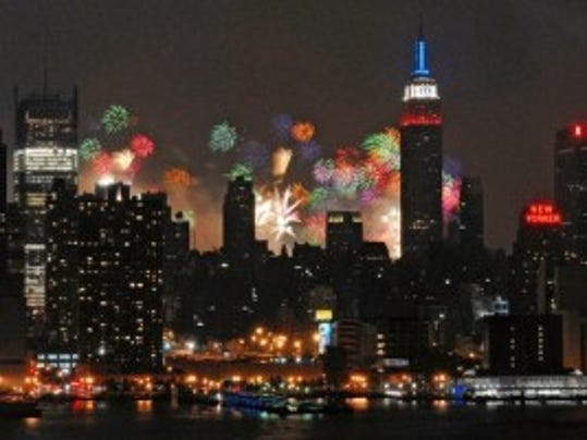 Manhattan Fireworks