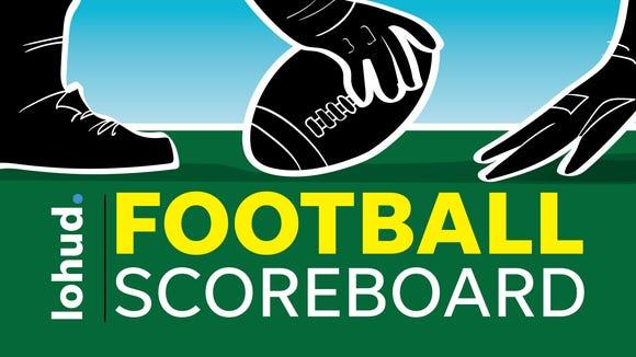 The lohud football scoreboard.
