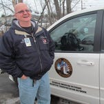 John Warwick coordinates the Chapter 60 Disabled American Veterans transportation program for veterans and also serves as a substitute driver for the program. This is his eighth year of driving for the program and second year of coordinating it.
