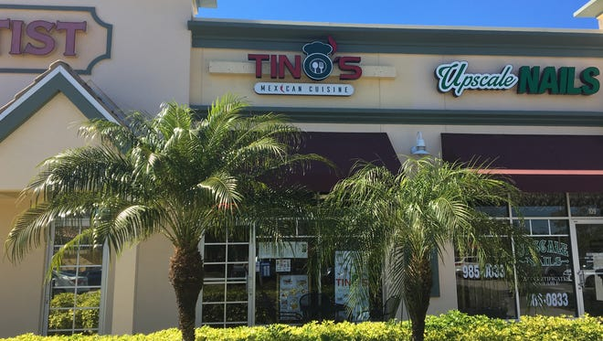 Tino's Mexican Cuisine opened in south Fort Myers in December 2017.