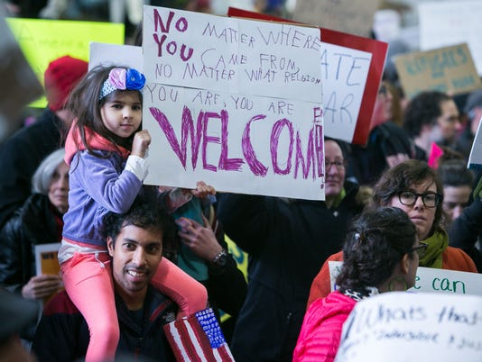 News: Refugees Protest