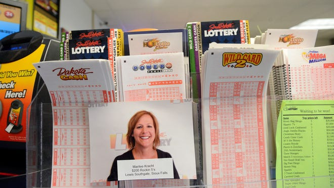File photo: Lottery slips at Lewis Southgate