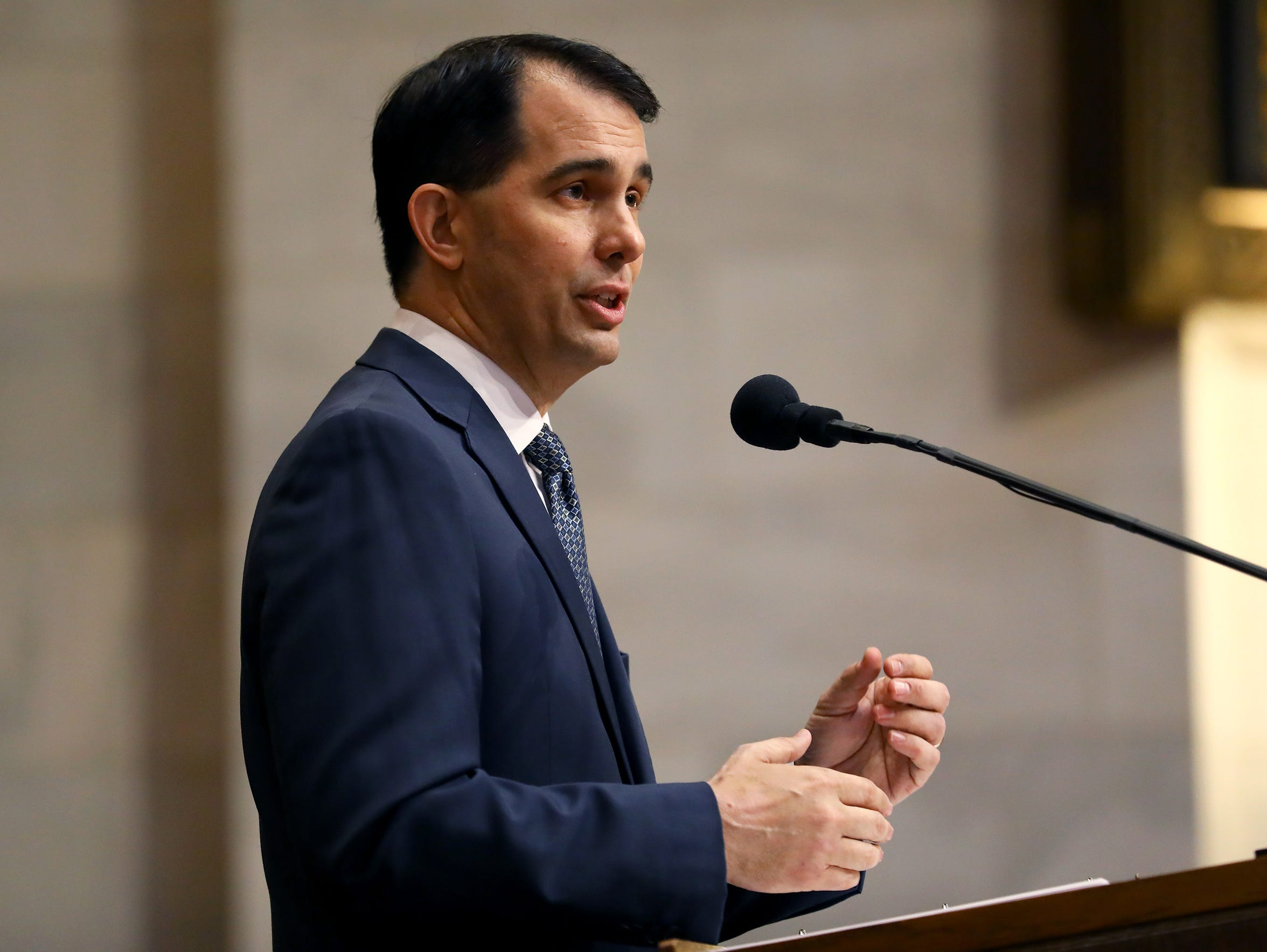 Gov. Scott Walker has declared war on waste, fraud