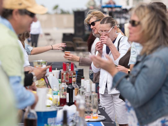 Groovin' & Tastin', the Sunrise City Beer, Wine & Spirit Fest, is Saturday on top of the downtown Fort Pierce City Hall parking garage.