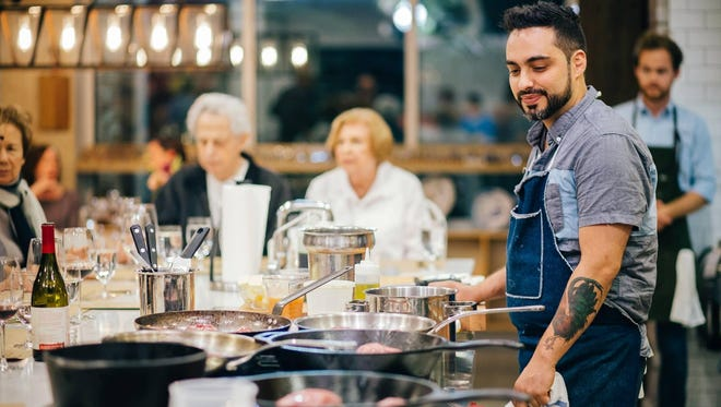 """Chef David Viana, who lives in Asbury Park and cooks at Heirloom Kitchen in Old Bridge, is a contestant on season 16 of Bravo's culinary competition, """"Top Chef."""""""