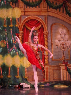 "Moscow Ballet's ""Great Russian Nutcracker"" stops at the Clemens Center in Elmira on Monday."