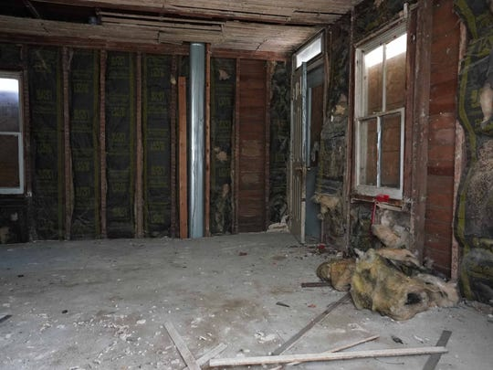 An interior of a property along N. Kirkwood St. The