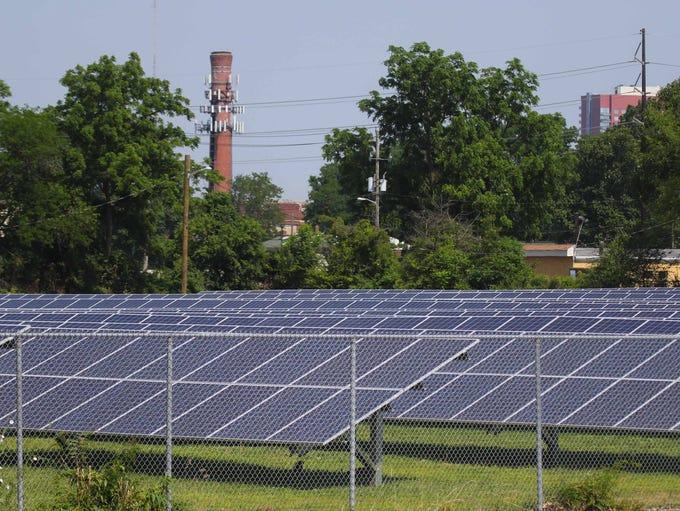 The new Wilmington Housing Authority Southbridge Solar