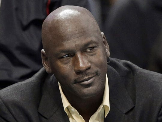 Former NBA star basketball player Michael Jordan is the arguably the greatest player ever.