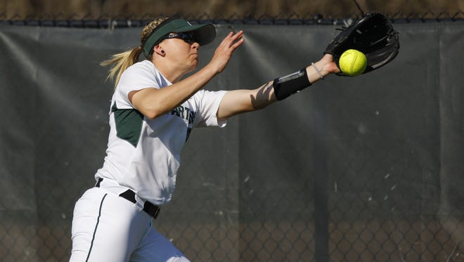 Michigan State sophomore Celeste Wood hit a walk-off homer in the Spartans' win over North Carolina State.