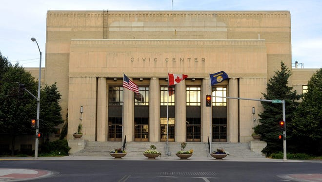 Repairs to the exterior concrete panels of the Great Falls Civic Center, and replacing the roof, would cost an estimated $5.5 million.