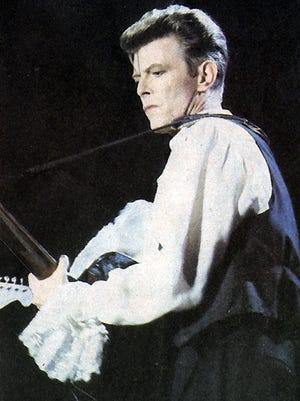 Rock star David Bowie died of cancer on Jan. 10, 2016.