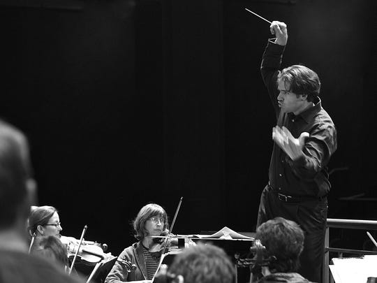 Darko Butorac, seen here conducting, has been selected as the new music director of the Asheville Symphony Orchestra.