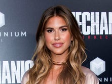 "Model Kara Del Toro  attends the premiere of ""The Mechanic: Resurrection,"" a story about a hitman gives up a life of assassinations to fix a Lions backup QB who has a penchant for throwing pick-sixes."