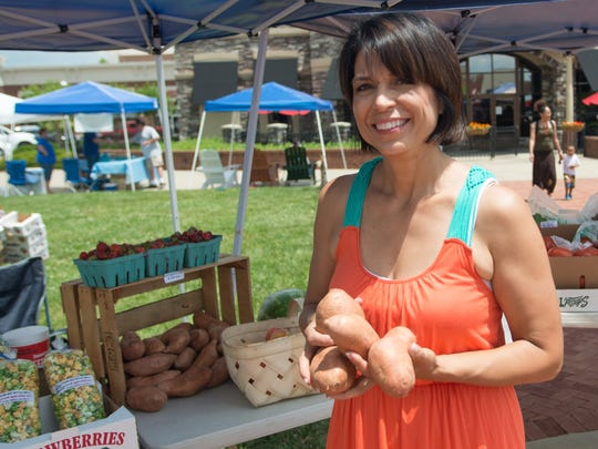 Regina Gammon started the Hendersonville Farmers Market several years ago to help promote local farmers and their products.