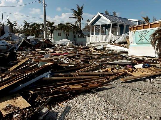 09/15/17-Islamorada, Florida—A home built under the