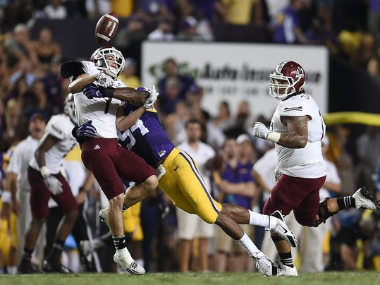 New Mexico State v LSU