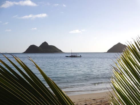 Lanikai's isolated, postcard-perfect shores are perfect for those seeking tranquility.