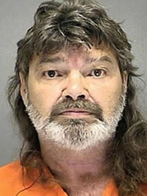 James Guy Bull, 62, of Daytona Beach, Fla., will spend five years in state prison for the repeated rape of an 8-month-old dog.