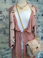 Jewel and pink nude tones serve as neutrals this season.