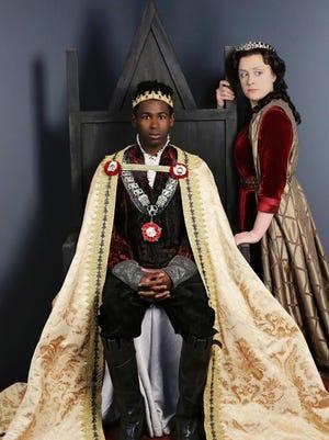 Darnell Pierre Benjamin stars as King Henry VI and Kelly Mengelkoch as Queen Margaret.