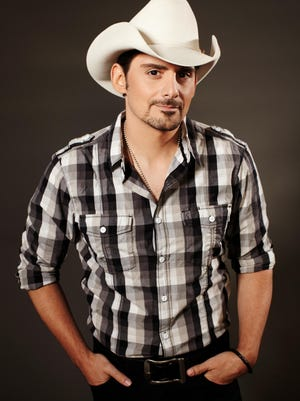 Brad Paisley performs Feb. 18 at Turning Stone Event Center in Verona.