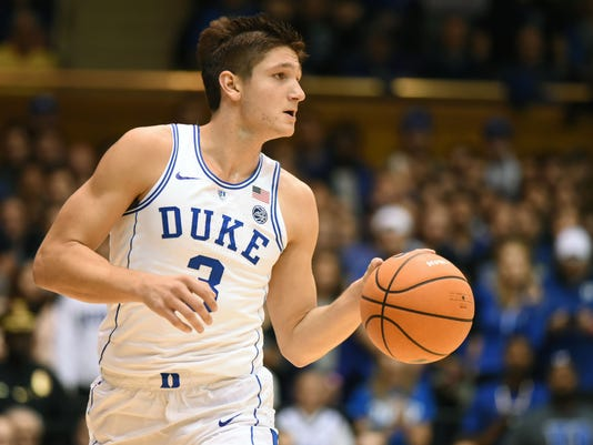 NCAA Basketball: Furman at Duke