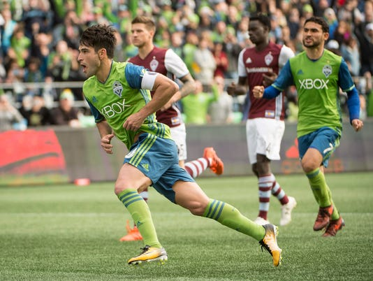 MLS: Colorado Rapids at Seattle Sounders FC