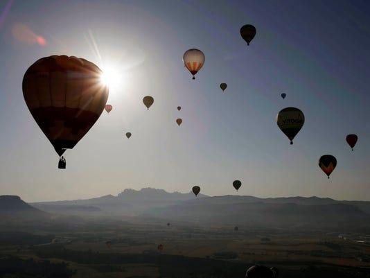 EPA SPAIN LEISURE BALLOON FESTIVAL EBF TOURISM & LEISURE ESP CA