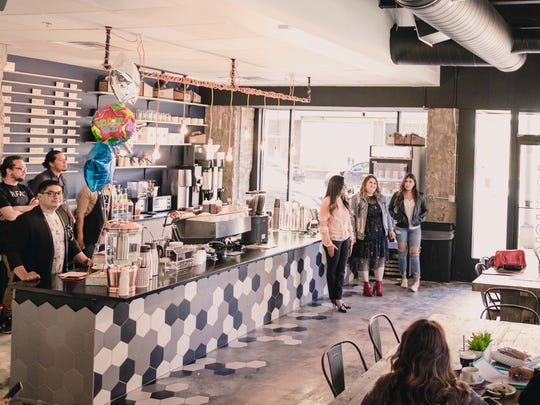 The District Coffee Co., at 222 Texas Ave., in Downtown El Paso, had its grand opening March 28.